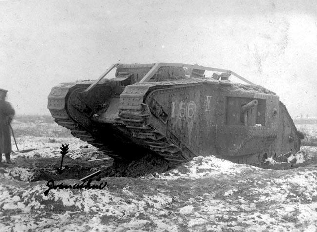 Stridsvogn første verdenskrig